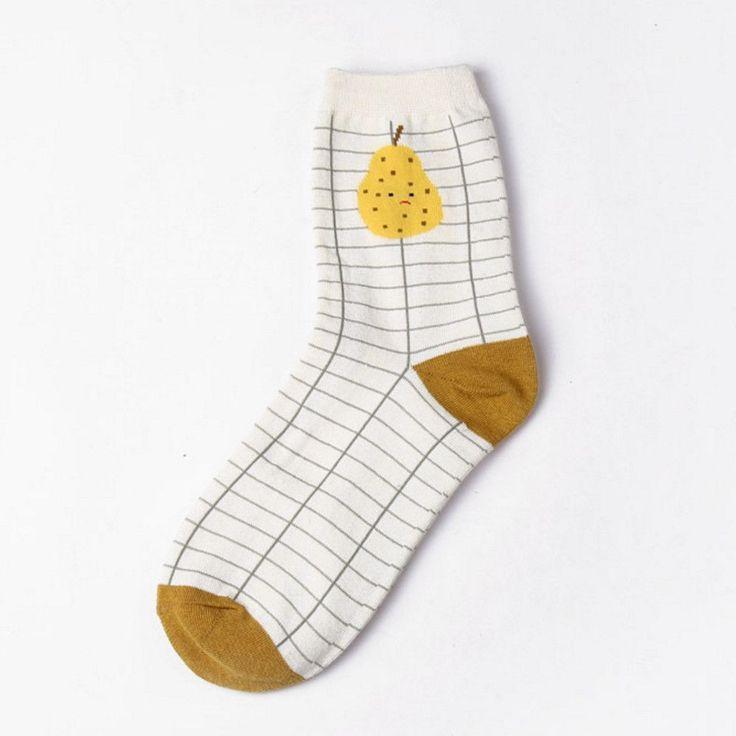 Pear Sock - Sock Season by BKBT
