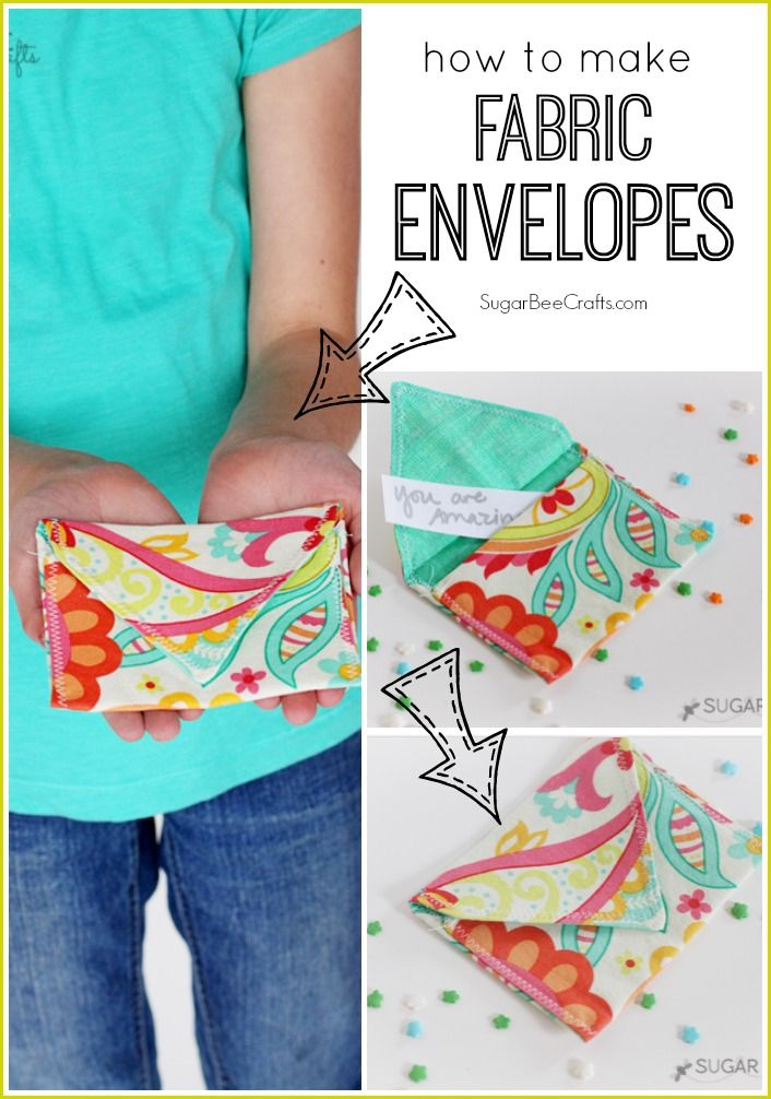 Fabric envelopes fabric envelope bee crafts and envelopes solutioingenieria Images