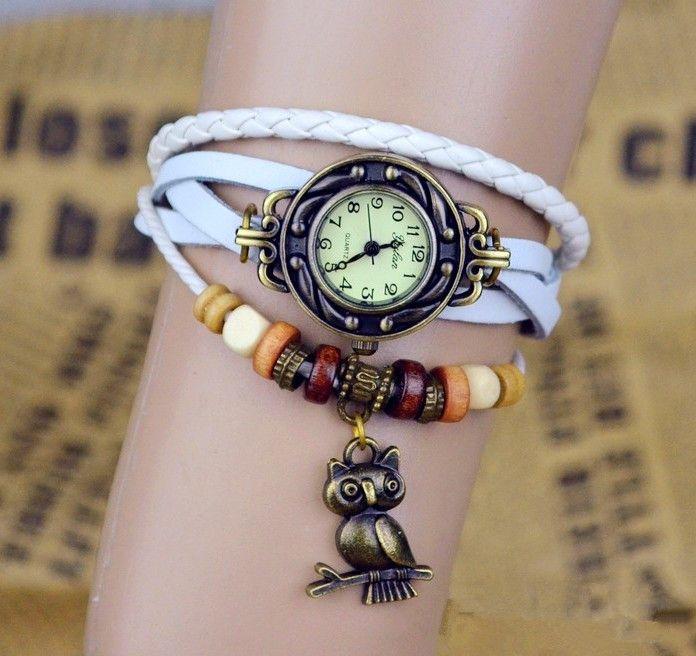 reloj de la pulsera del cuero genuino - envíos gratis en todo el mundo