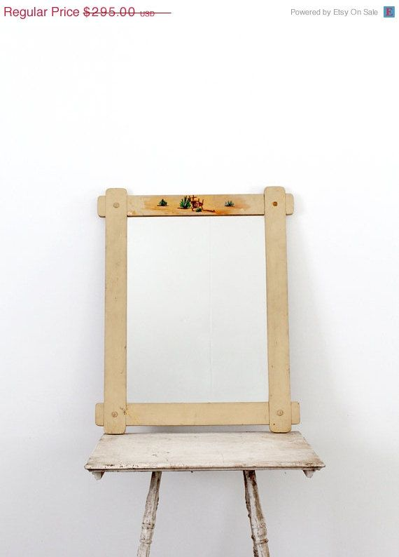 Hey, I found this really awesome Etsy listing at http://www.etsy.com/listing/123383052/1940s-monterey-mirror-vintage-wall