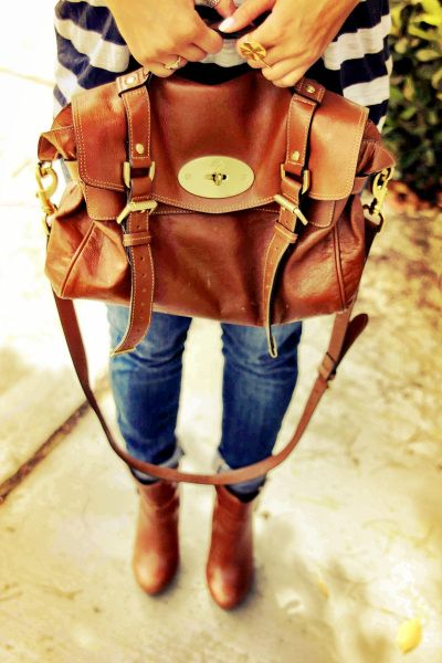 Mulberry bag - all seasons.