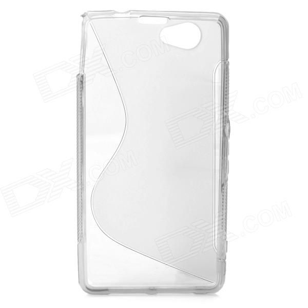 Color: Translucent Grey; Brand: N/A; Model: N/A; Material: TPU; Quantity: 1 Piece; Compatible Models: Sony Xperia Z1 Mini / Xperia Z1S / Xperia Z1 f / D5503; Other Features: Protects your device from scratches, dust and shock; Packing List: 1 x Protective case; http://j.mp/1tsfWbo