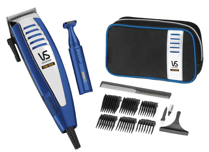 Deluxe Clipper Gift Set - RRP$39.95  VS7448A  A professional mains operated hair clipper set with full accessories - the perfect gift for Dad this Father's Day.  http://www.vssassoon.com.au/products/mens/VS7448A.aspx