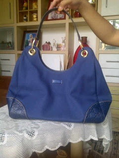 HANDBAGS Gucci blue