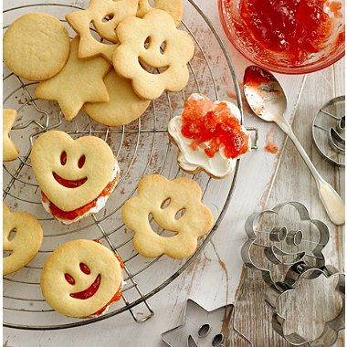 Smiley Faces Cookie Cutters - from Lakeland