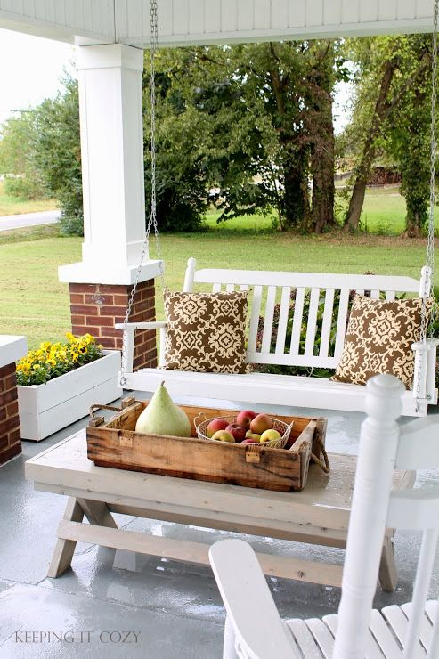 252 Best Porches And Patios Images On Pinterest | Outdoor Living, Terraces  And Balcony