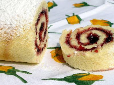 Rotolo dolce con marmellata per celiaci