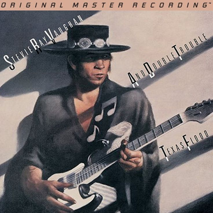 Stevie Ray Vaughan - Texas Flood on Numbered, Limited-Edition Hybrid SACD from Mobile Fidelity