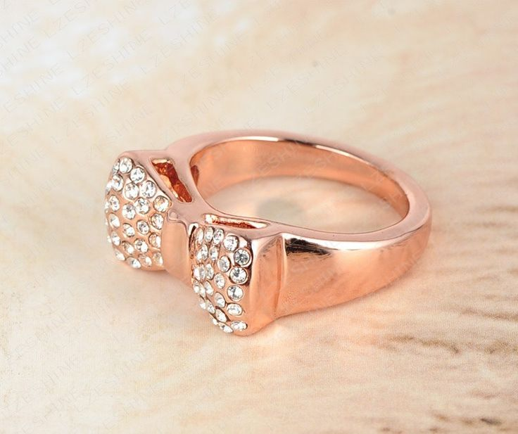 Valentines Day Gift Lovely Bow Engagement Ring/Promise Ring With Rose Gold Plated Austrian Crystal Jewelry //Price: $10.99 & FREE Shipping //     #accessories #necklaces #pendants #earrings #rings #bracelets    FREE Shipping Worldwide     Get it here ---> https://www.myladyempire.com/lzeshine-valentines-day-gift-lovely-bow-engagement-ringpromise-ring-with-rose-gold-plated-austrian-crystal-jewelry-ri-hq0138/