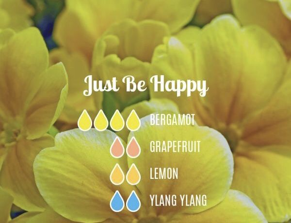Happy, bright, fresh diffuser blend