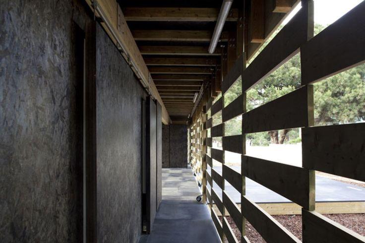 PARATELIER, Leonardo Finotti, global arquitectura paisagista · Padiglione Parco Aventura · Divisare
