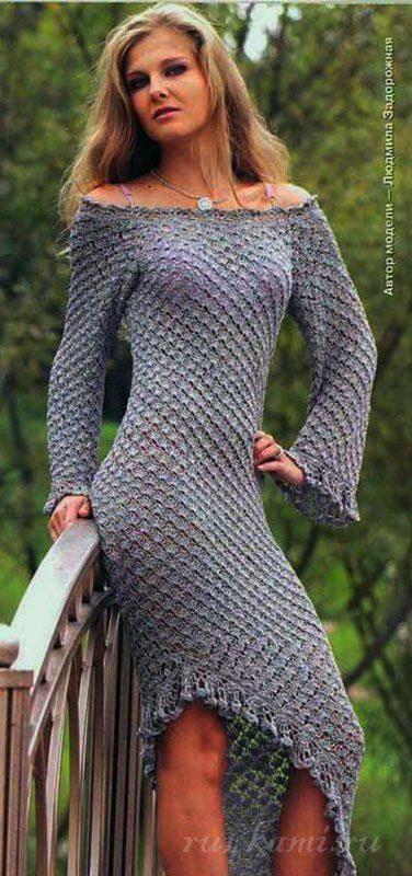 ergahandmade: Crochet Dress + Diagramshttp://ergahandmade.blogspot.sk/2016/02/crochet-dress-diagrams_69.html