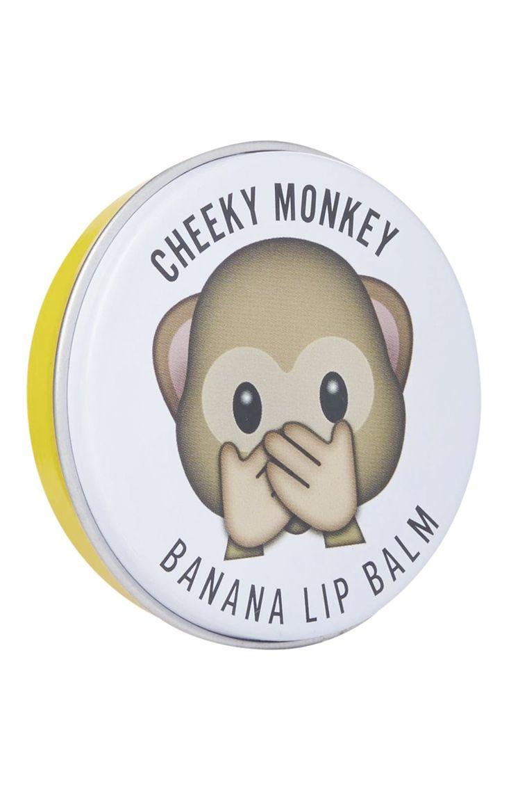 Banana Lip Balm Tin