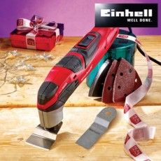 DIY Xmas Gifts EINHELL MULTITOOL W/ 10 ACCESSORIES