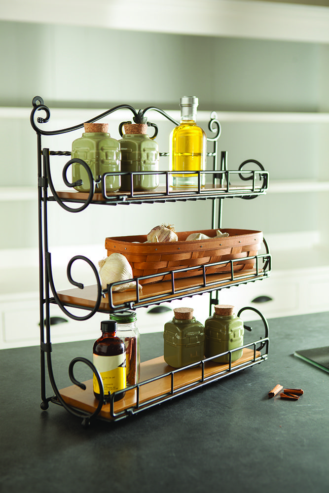 Stand it on the counter, hang it on the wall or fold-away for easy storage – our new Spice Rack is as versatile as the spices it holds!