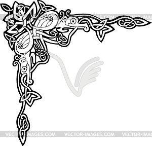 Кельтский орнамент - векторная иллюстрация