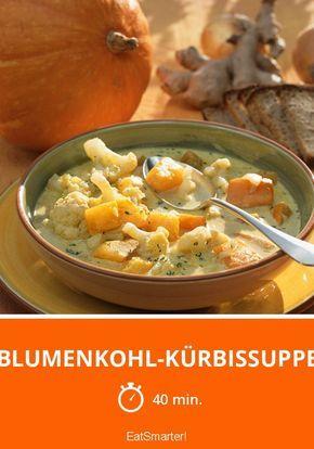 Blumenkohl-Kürbissuppe
