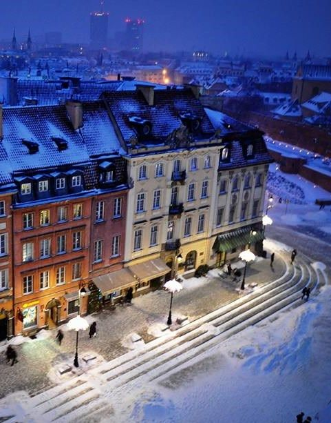 Winter, Warsaw Old Town