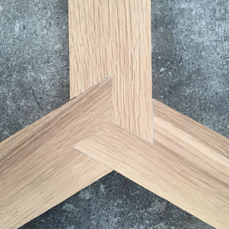 Three way lap joint by relm furniture. (Diy Wood Work Wooden Furniture)