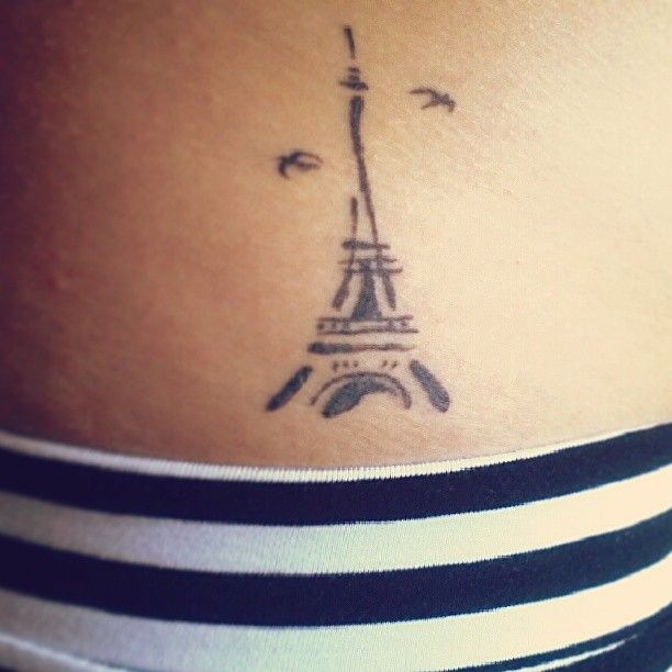 25 Best Ideas About Paris Tattoo On Pinterest: 17 Best Ideas About Eiffel Tower Tattoo On Pinterest