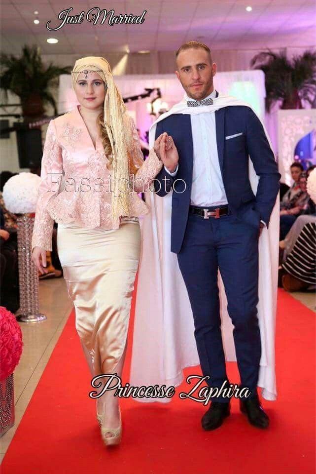 Karako Algerian Couple #algeriantraditionaldresses Algeria-Algérie