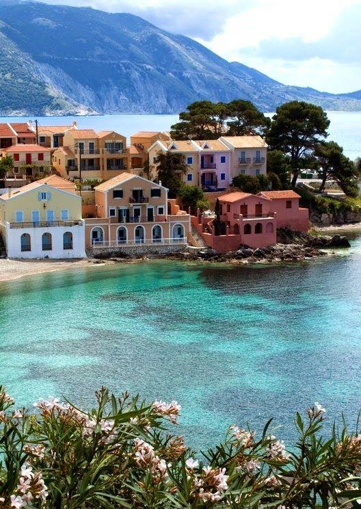 The Beautiful Island of Kefalonia Greece