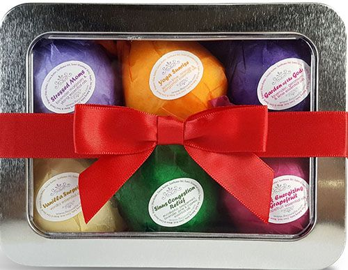 1. Bath Bombs Mothers Day Gift Set