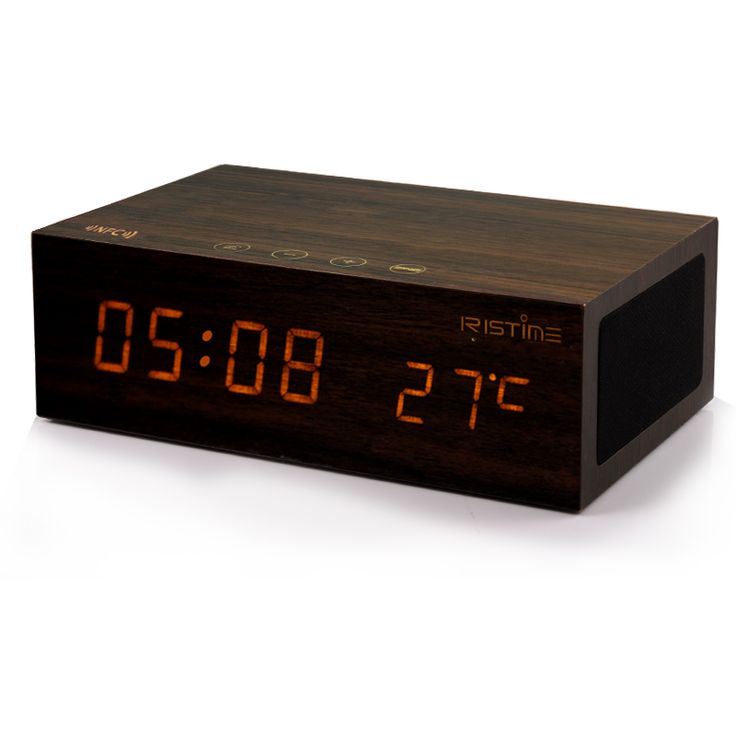 Creative Multi-function LED Alarm Clock Audio Luminous Electronic Clock With Thermometer Phone Bluetooth Speaker Desk Wood Clock |  Check Best Price for Creative Multi-function LED Alarm Clock Audio Luminous Electronic Clock with Thermometer Phone Bluetooth Speaker Desk Wood Clock. Here we will give you the information of finest and low cost which integrated super save shipping for Creative Multi-function LED Alarm Clock Audio Luminous Electronic Clock with Thermometer Phone Bluetooth…