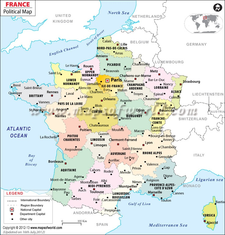 81 best cartes images on pinterest maps cards and world maps france rgion france mapprintable gumiabroncs Choice Image