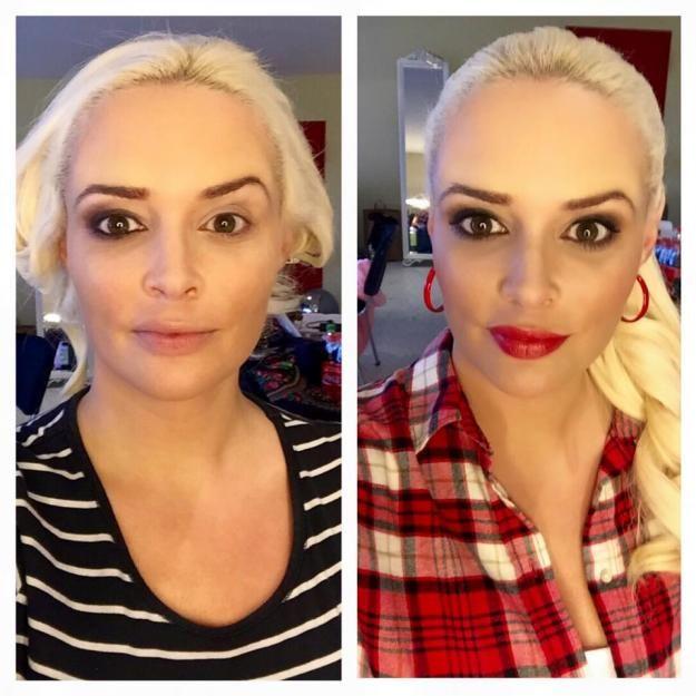 Daniela Katzenbergerliebt aufwändiges Make-up.