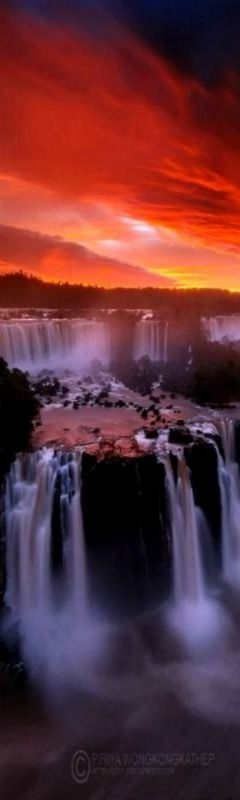 iguazu falls sunset - photo #17
