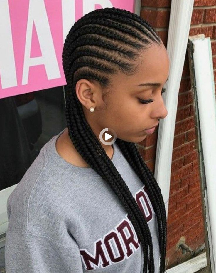 19+ Long feed in braids to the back trends
