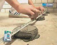 Стяжка пола - бетонные полы