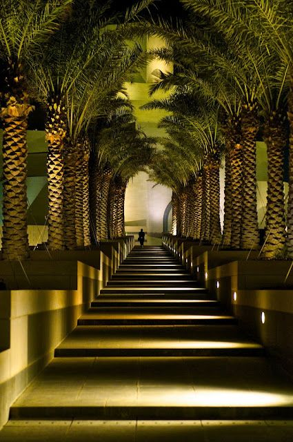 Entrance to the Islamic Museum of Art, Qatar by Larry Johnson via Flickr