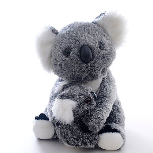 Lazada Mum Koala Hold Baby Koala Stuffed Animal Plush Toy Dolls 11''