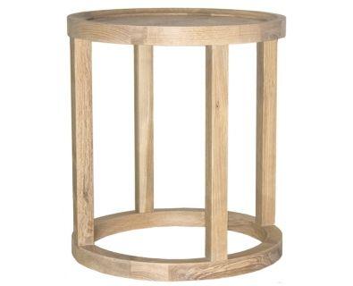 Lido Side Table - Oak.