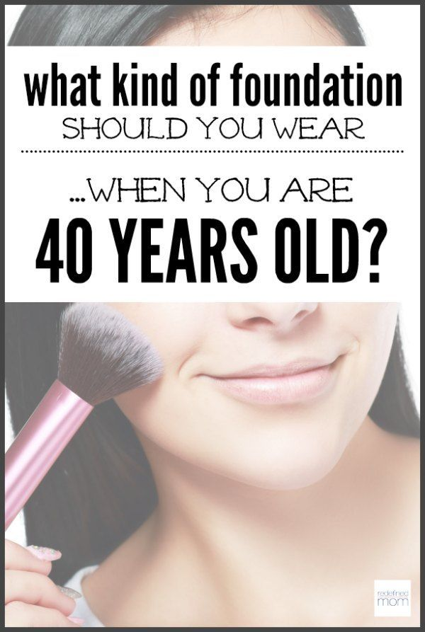 40 years old? Looking for how best to use makeup? Here are tips to finding a foundation you should wear when you are 40 years old - so you look like a beauty, not as someone overly made up.