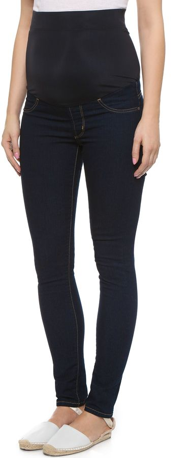 James Jeans Twiggy Maternity Skinny Jeans $137 https://api.shopstyle.com/action/apiVisitRetailer?id=121966682&pid=uid841-37799971-81