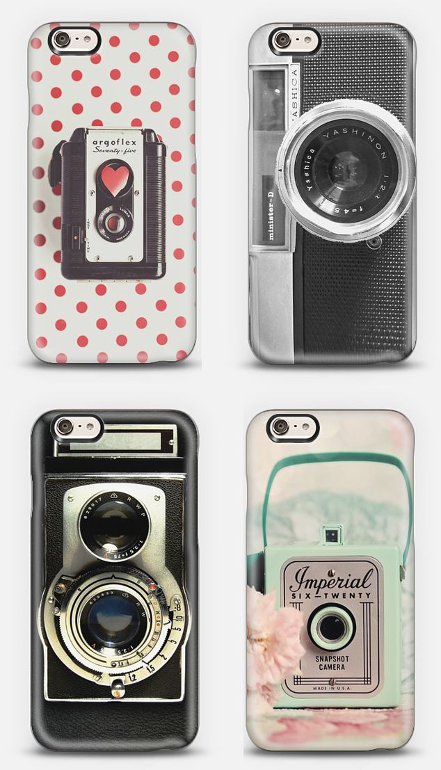 Vintage Cameras - Phone Cases