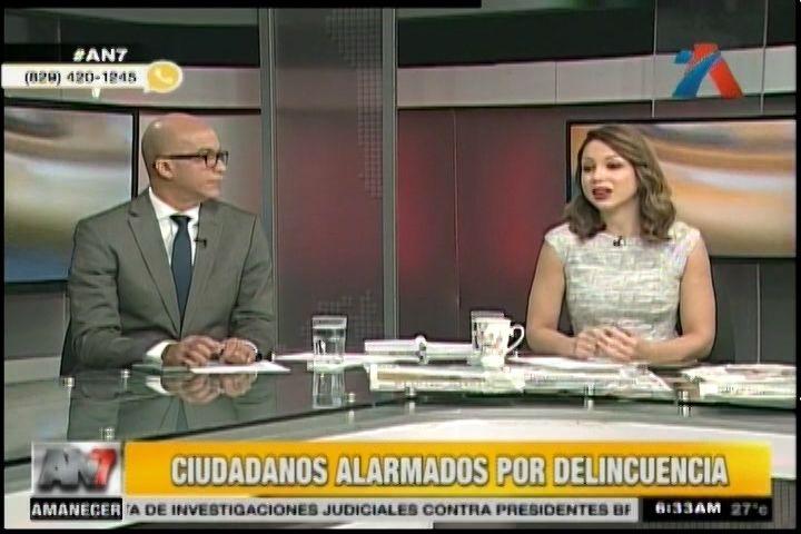 Comenta Con An7: Ciudadanos Alarmados Por La Delincuencia… Director De La PN Niega Crecimiento De La Delincuencia