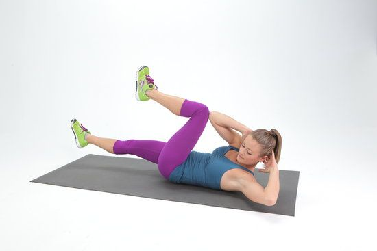 5-Minute Ab Workout: The Bicycle Crunch. #SelfMagazine