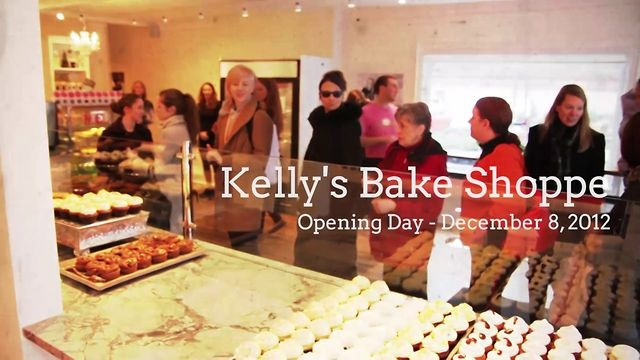 VIDEO! Kelly's Bake Shoppe ::: Opening Day Highlights.  This video highlights all the moments that contributed to making the opening day at Kelly's Bake Shoppe such a great success.