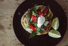 Indian taco recipe - tallow or lard fried Indian fry bread recipe - weston a price recipe