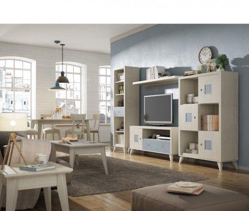 Romantica vintage 5 muebles salon pinterest muebles for Muebles bonitos para salon