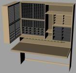 electronics workspace