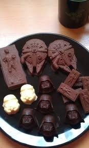 """Star wars candy... this would be the """"something special"""" for my boys at the wedding!"""
