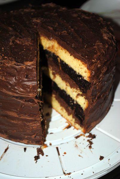 безумный шляпник - Апельсиново-шоколадный торт
