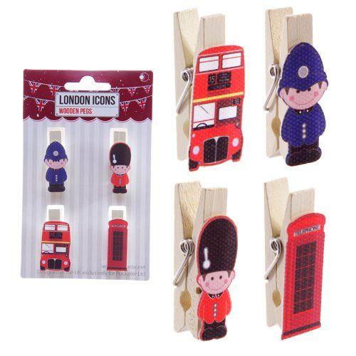 London %26 UK Funky Icons Pack von 4 Dekorative Pegs Puckator https://www.amazon.de/dp/B00KJJ9FVC/?m=A37R2BYHN7XPNV