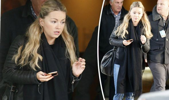 Ola Jordan leaves Blackpool hotel
