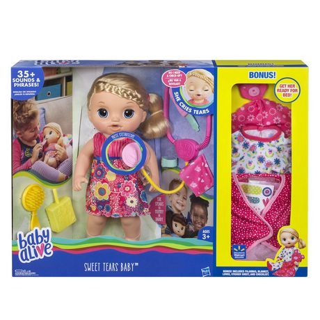 Baby Alive Sweet Tears Abbey Christmas Gift Ideas 2017